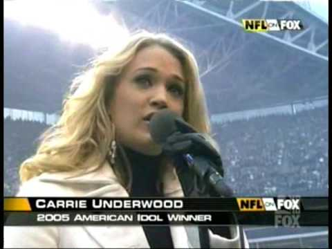 Carrie Underwood's National Anthem