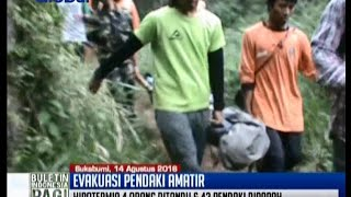 47 Pendaki amatir terpaksa dievakuasi dari gunung salak - BIP 15/08