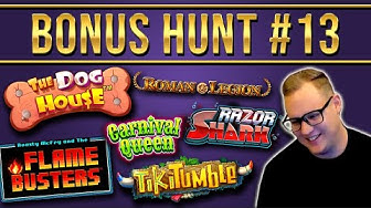 Bonus Hunt Highlights #13 - €25.000 for 29 Slot Features (+1 Super Bonus)