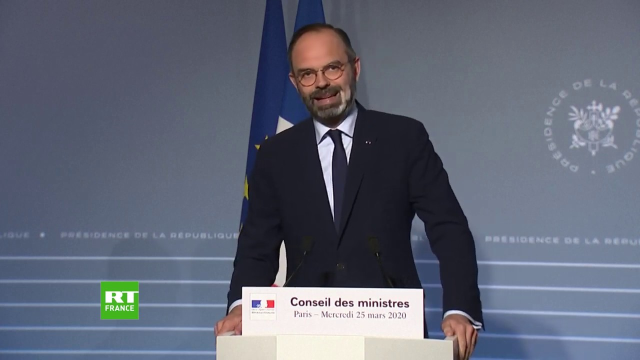Point presse d'Edouard Philippe après le Conseil des ministres