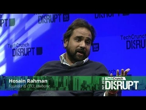 Hosain Rahman of Jawbone: the Value of UX Design | Disrupt NY 2014