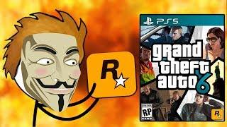 When a Gamer steals GTA 6 from Rockstar Games