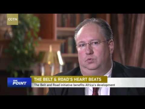 The Beijing Axis's Kobus van der Wath on CGTN's The Point with Liu Xin