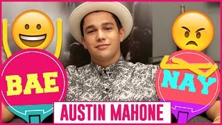 Singing in the Shower with Austin Mahone #BAEorNAY