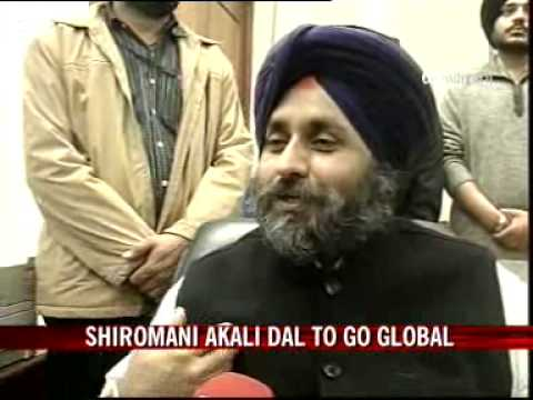 Shiromani Akali Dal to go global?