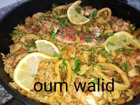 مطبخ ام وليد اسهل طريقة لعمل البايلا