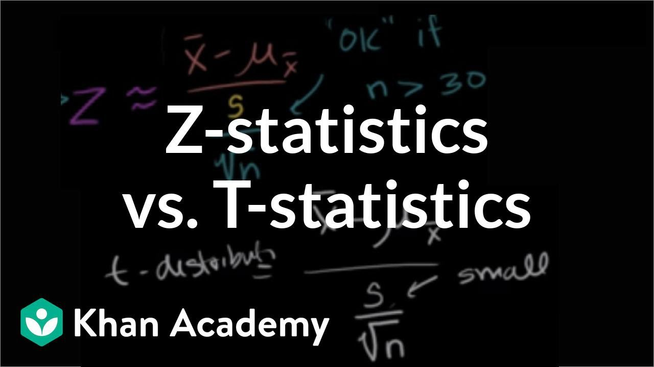 Z statistics vs t statistics inferential statistics for F table 99 confidence