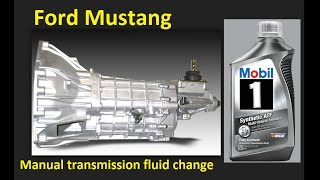 Мануал заміни рідини: Форд Мустанг 1994-2004 і раніше Фокс. Liquido-де-трансмісія