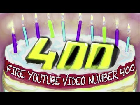 Fire YouTube Video Number 400 - Original Song & Animated iPhone Fingerpaint - Blame It On Your Ex