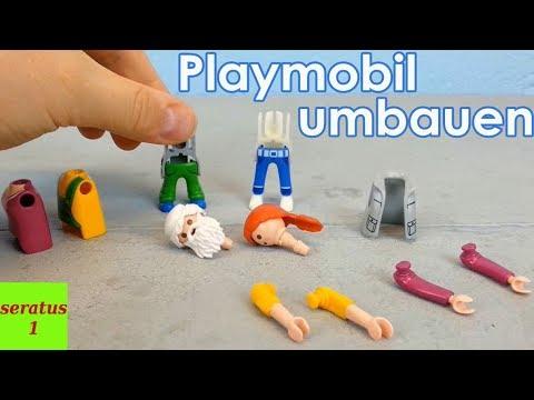 Playmobil Figuren Umbauen Und Selber Gestalten Seratus1 Diy Video