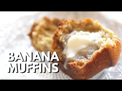 How To Make a Small Batch of Banana Muffins