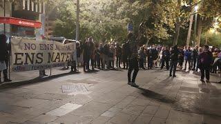 Cerca de 150 personas se manifiestan contra la violencia de género en Palma