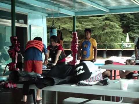 Korea day 9- Wakeboarding Part 1