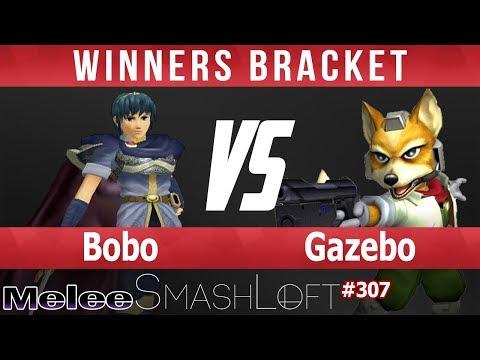 SL SSBM #307 - Bobo (Marth) vs Gazebo (Fox) - Winners Bracket