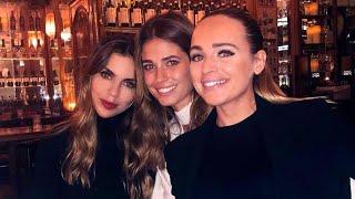 Coral Simanovich, Romarey Ventura y Melissa Jiménez cenan tras el Barça - Betis