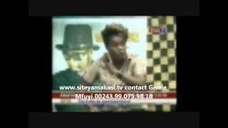 Gisele mfuyi  la douce sensation 7 reçoit la Soeur Marie Misamu