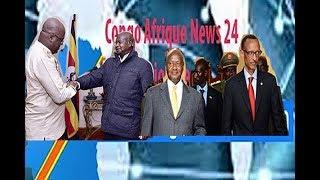 POURQUOI TSHISEKEDI EN OUGANDA?  EYINDI! TENSION ENTRE RWANDA ET OUGANDA thumbnail