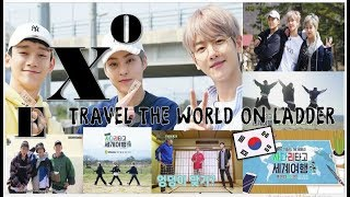 EXO 엑소  Travel the world on EXO's ladder CBX SUB ENG / SUB ESPN