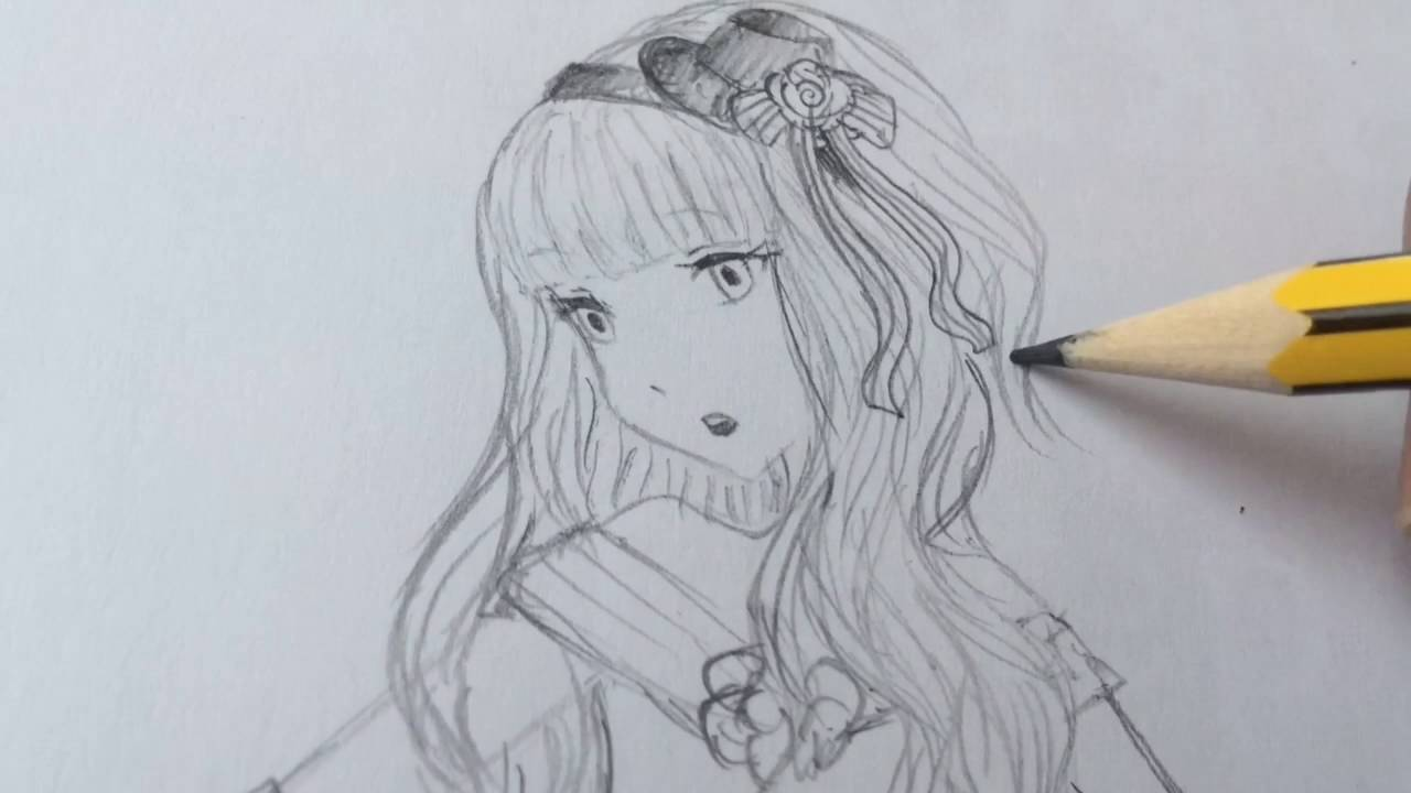 How To Draw An Anime Princess
