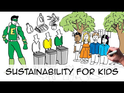 Sustainable development for kids (by grade 3 kids)