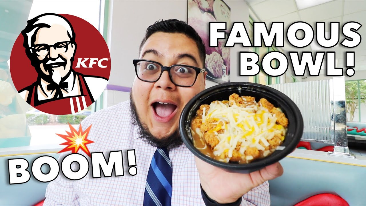 KFC Famous Bowl $5 Fill Up - Fast Food Review - Full Nelson Eats A Lot