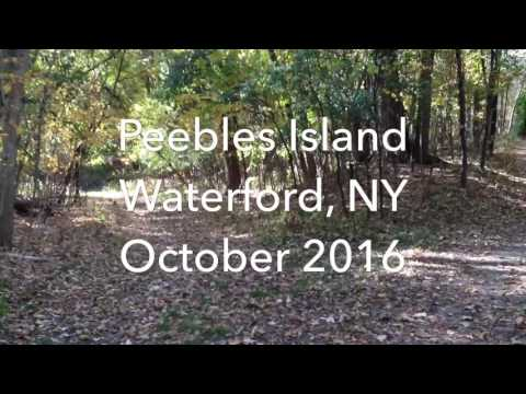 Exploring Peebles Island, Waterford NY in Fall