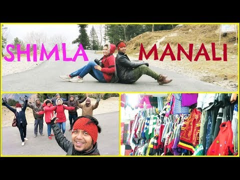 SHIMLA MANALI super fun vlog#20/snow/shopping/lots more/INDIANGIRLCHANNEL TRISHA