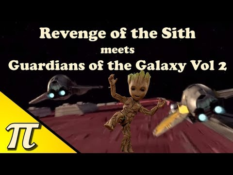 Revenge Of The Sith Opening Scene Guardians Of The Galaxy Vol 2 Style Youtube