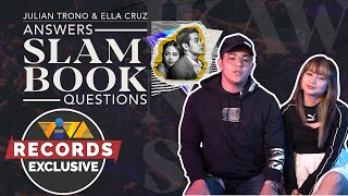 Julian Trono and Ella Cruz answers Slambook questions! (Viva Records Spotlight)