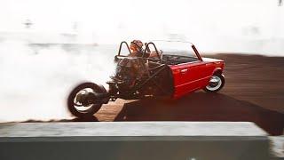 ВАЗ КабриоТрайк ДРИФТИТ на Шоу   Все в Шоке, как она ВАЛИТ   Royal Auto Show   ВАЗ 2101