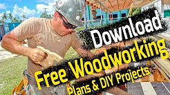 Free Woodworking Plans & DIY Projects for Beginners - Download Plans PDF Now