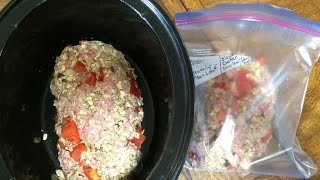 Slow Cooker Meals: Easy Homemade Meatloaf Recipe