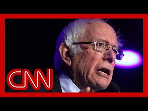 Bernie Sanders takes