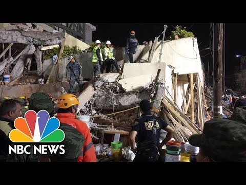 At Least 20 Children Killed In Mexico City School Collapse | NBC News