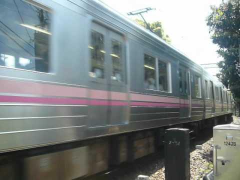 京王電鉄1000系(1・2次車)(サーモンピンク色) 急行 井の頭線