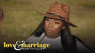 Melody and LaTisha Discuss Police Report Drama | Love and Marriage: Huntsville | OWN
