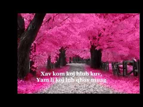 Xav Kom Koj Hlub Kuv_instrumental/Lyrics