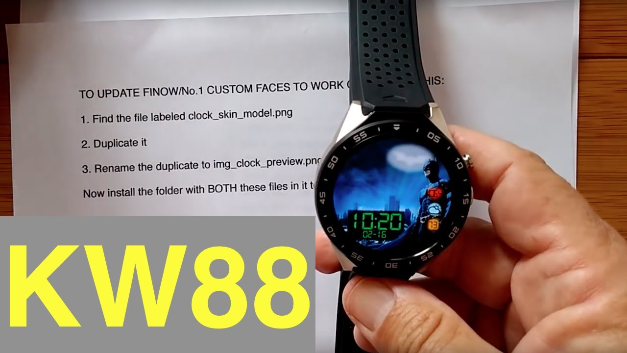 android watch faces kw88