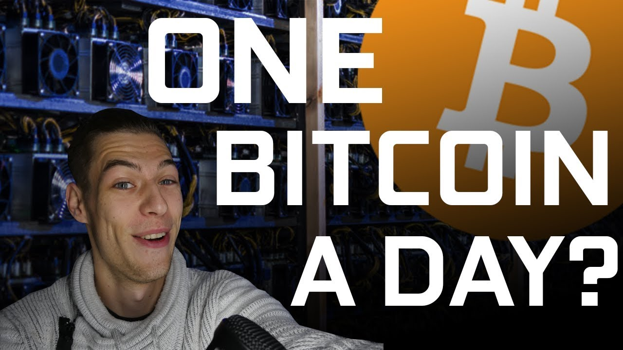 how to make one bitcoin a day