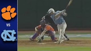 Clemson vs. North Carolina ACC Baseball Highlights (2017)