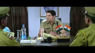 Abhimanyu takes charge as Assistant Commissioner of Police - Bollywood film Tera Mera Vaada