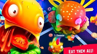 I am A Giant Hamburger!!! Burger.io Gameplay