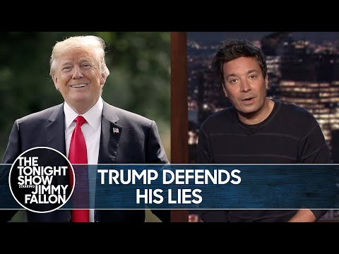 Trump Defends Lying to Americans About the Coronavirus | The Tonight Show