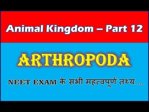 Phylum Arthropoda Examples | Animal Kingdom | NEET Bio | Part 12