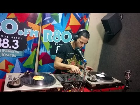 Abel Meyer - Classic Vinyl Radio R80 FM 88 3 Master Mix (Interview Only)