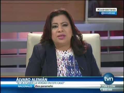 TVN El ministro Álvaro Alemán sobre la defensa de Juan Carlos Varela