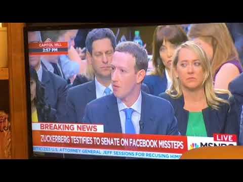 Mark Zuckerberg Opening Statement Before U.S. Senate