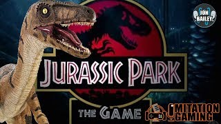 SURVIVING IN JURASSIC PARK AS A RAPTOR! (YouTube Gaming)