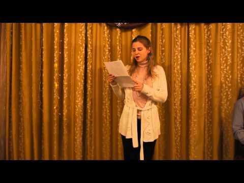 Светлана Хромова, выступление на 9-м фестивале поэзии «М-8»
