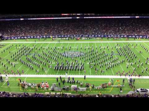 Kansas State Marching Band Halftime Show Texas Bowl 2016 Vs Texas Aggies